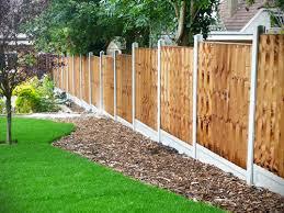 Fence Ideas For Garden Garden Fence Ideas Home Landscape Design