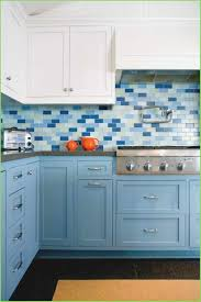 blue subway vintage kitchen backsplash blue subway tile gray