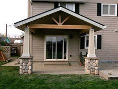 Backyard Patio Cover Ideas Open Vaulted Porch Backyard Pinterest Porch Patios And Decking