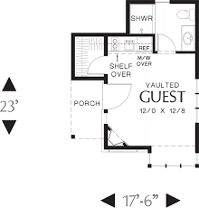 guest house floor plans small house plans under 250 sq ft home deco plans