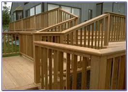 deck stair handrail ideas a more decor