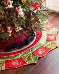 christmas skirt christmas tree skirts balsam hill