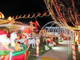 christmas decorations light show tinley park family to compete on christmas light fight