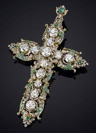 vatican jewelry pope s jewelry for sale at 1 9 million gold and gems