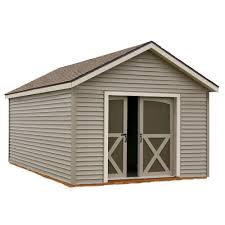 Shed With Porch Plans Best Barns Wood Sheds Sheds The Home Depot