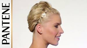 How To Formal Hairstyles by Wavy Pixie Cut Updo Hairstyles For Short Hair Pantene Youtube