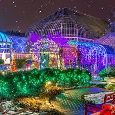 phipps conservatory christmas lights candlelight evenings phipps conservatory and botanical gardens