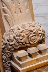 Greenbaum Interiors Restoration Woodcarving At Greenbauminteriors Workroom And