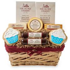 sausage gift baskets signature birthday gift basket hickory farms