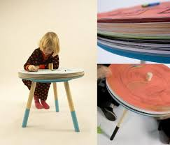 Drawing Desk Kids Swissmiss Come And Draw Table