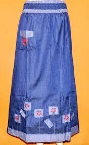 Baju Atasan Rok Levis rok levis bordir saku rm248 grosir baju muslim murah tanah abang