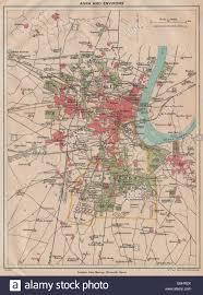 Agra India Map by British India Agra U0026 Environs Showing Cantonment Fort U0026 Taj