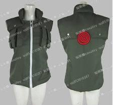 Kakashi Halloween Costume Naruto Vest Ebay