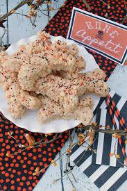 rice krispie treats halloween bones eighteen25