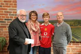 sorek family presents gift to vincent college
