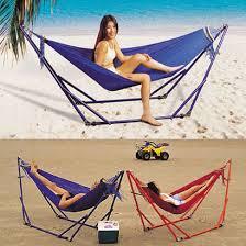 folding hammock stand hammock