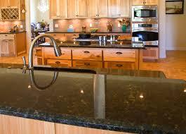 interior decoration kitchen design with black uba cuba granite