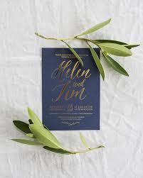 wedding invitations navy gold foil and navy wedding invitations