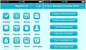 The Wedding Planner And Organizer The Wedding Planning Mobile App With Complete Check List