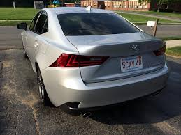 lexus rc 350 blacked out tail light turn signal red out lower reflector blackout