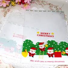 hey funny 100pcs lot mini christmas santa claus candy bag for kids