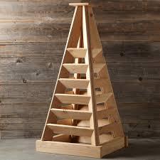 vertical garden pyramid tower plans home outdoor decoration