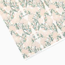 botanical wrapping paper vintage floral botanical wrapping paper by tuppence collective