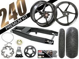 honda cbr 929 cbr 929 954 black 240 kits trac dynamics