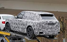 rolls royce cullinan suv looks almost ready for its debut