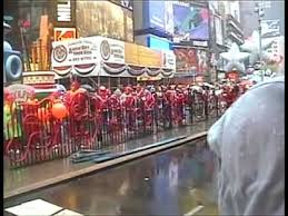 footprints tap ensemble in the macy s thanksgiving day parade 1999