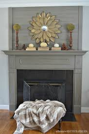 simple fall decorating mantels babies and home