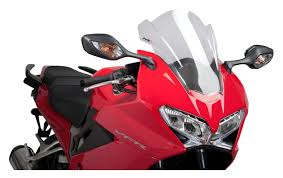 puig racing windscreen honda vfr800 2014 2015 revzilla
