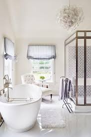 Purple And Gray Bathroom - bathroom chaise lounge design ideas