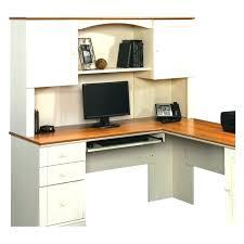 sauder harbor view computer desk and hutch sauder harbor view computer desk with hutch home desk ideas