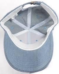 wholesale denim baseball caps blank jean hats in bulk