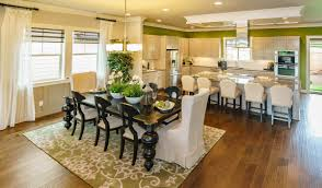 Kitchen And Table Polygon Estates New Homes At River Terrace In Tigard