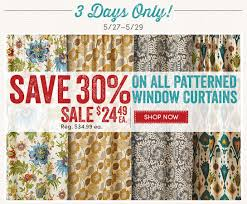 Patterned Window Curtains Cost Plus World Market 30 Off All Patterned Window Curtains 3