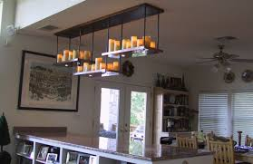 faux candle light fixtures faux candle chandelier lighting rectangular diy hanging non electric