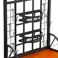 Iron Bakers Rack Sei Dome Bakers Rack Review Bakers Racks Collection