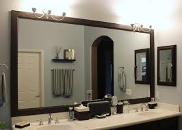 framing bathroom mirror ideas wonderful framed bathroom mirrors ideas pertaining to house