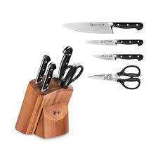 German Made Kitchen Knives Cangshan V2 Series 1022520 German Steel Forged 5 Piece Starter