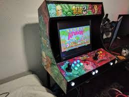 Bar Top Arcade Cabinet 2 Players Bartop Arcade Machine With Raspberry Dani Telles López