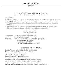 automotive resume 10 sample resume automotive service manager
