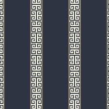 greek key stripe wallpaper lelands wallpaper