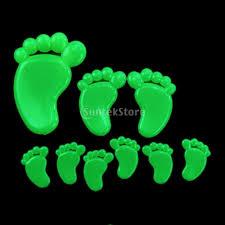glow in the dark yellow green feet shining stickers wall bedroom glow in the dark yellow green feet shining stickers wall bedroom kids decoration