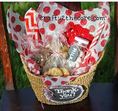 chagne gift basket gift idea basket with cookies milk jar straws napkin candy