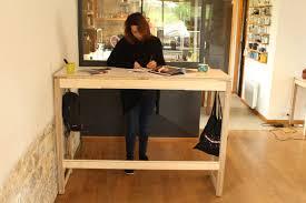 bureau pour travailler debout bureau pour travailler debout un meuble esthétique écologique et