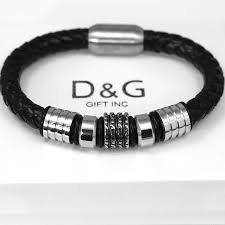 bracelet mens ebay images Best mens leather bracelets the best of 2018 jpg