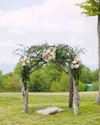 wedding arches outdoor ideas from real weddings martha stewart weddings