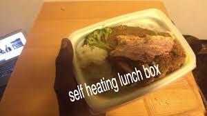 japan technology self heating bento youtube